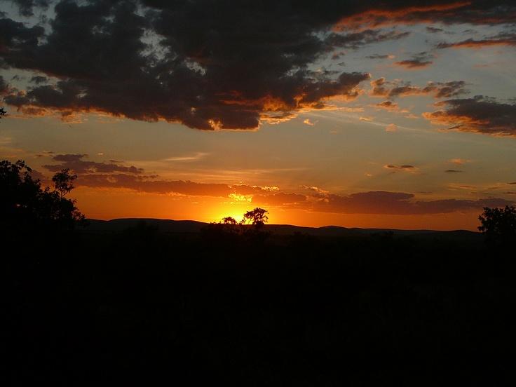 Zebula sunset