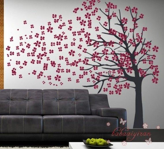 43 best tree wall decals images on pinterest child room for Tree wall design ideas