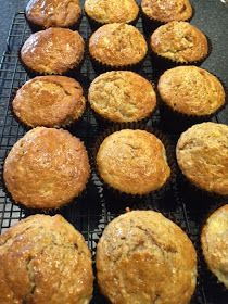 The Improving Cook- Oaty Banana Muffins