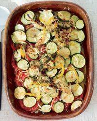 Summer-Vegetable Casserole Recipe on Food & Wine