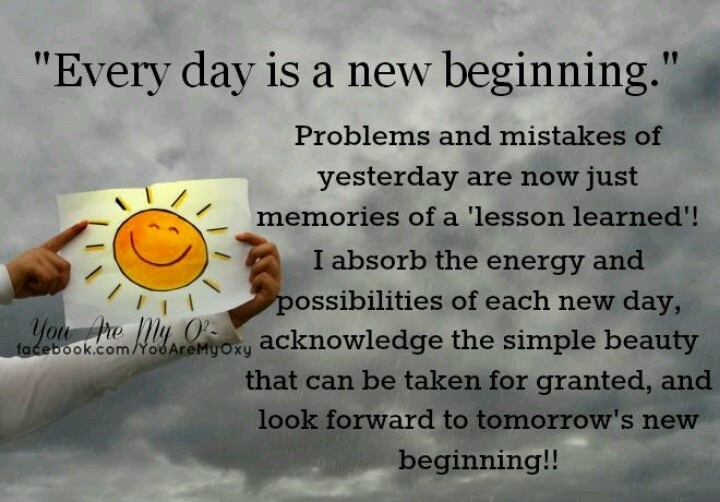 Tomorrow Is A New Day Quotes Quotesgram: New Day New Beginning Quotes. QuotesGram