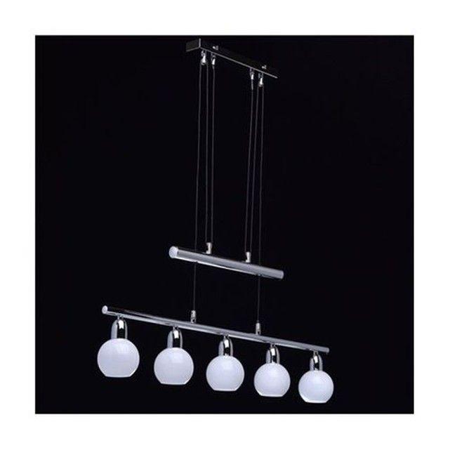 Suspension  632011705 Chrome 5 x 4W MW-LIGHT