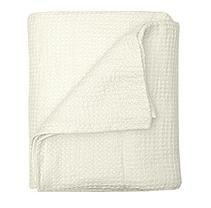 Linen Luxury Throw - (Pearl)