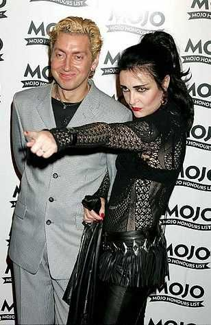 Siouxsie and her husband and band-mate, Budgie.