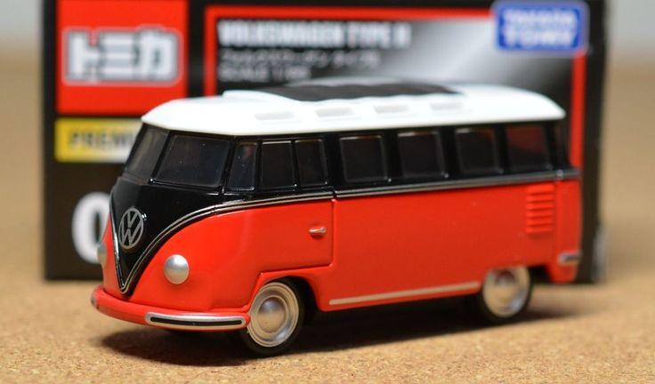 Tomy Tomica Premium 07 Volkswagen Type Ii Scale 1 65 New
