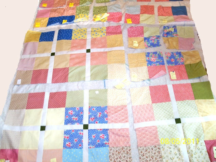 Quilt Patterns With 6 Inch Squares : 1000+ images about Donation Quilts on Pinterest Coordinating fabrics, The internet and Quilt