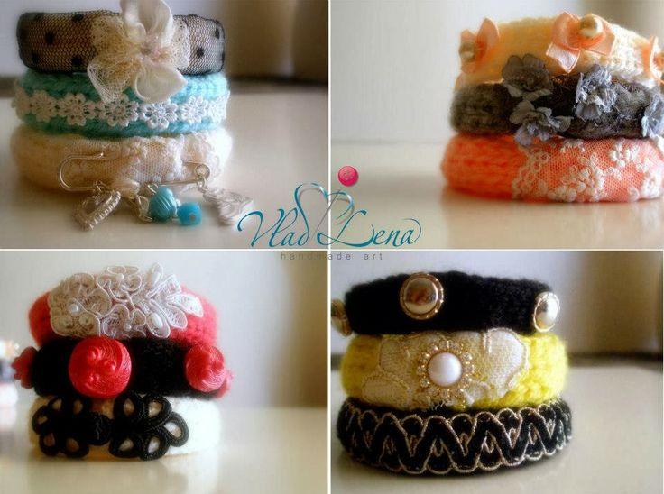 DIY. Вязанные браслеты (моя коллекция)