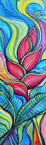 Heliconia: By Colleen Wilcox  http://www.colleenwilcoxart.com
