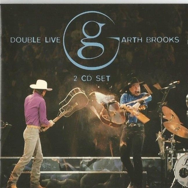 1 CENT CD: DOUBLE LIVE (1998 CAPITOL) GARTH BROOKS, BUY IT NOW, FREE SHIPPING #ContemporaryCountry