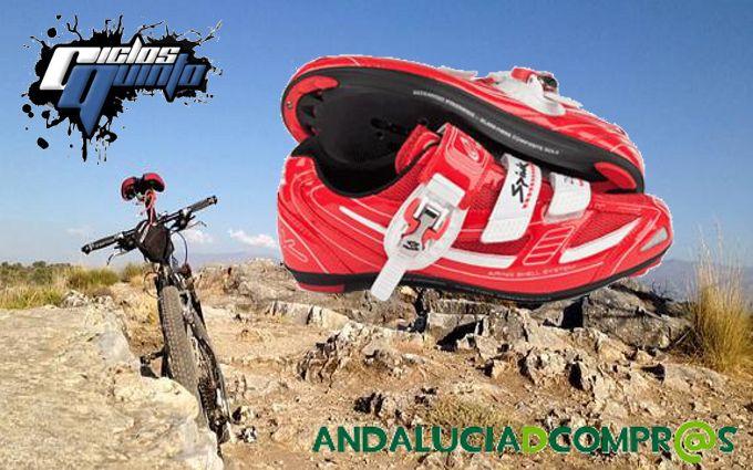 Te gustan estas zapatillas de ciclista? Pues visita https://www.andaluciadecompras.es/portal/web/ciclos-quinto-s.l y descubre todos sus productos a precios increíbles, sin excusa para no hacer deporte!