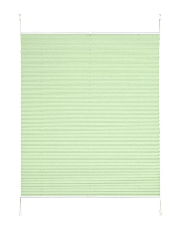 Schöner Lichtschutz mit System: das Crush-Plissee »Dahra« von my home. Er ist problemlos zu befestigen, ganz ohne Bohren oder Schrauben. Darüber hinaus bietet der Klemm-Plissee-Faltenstore einen großen Vorteil. Das Tageslicht wird durchgelassen, wobei das Polyester gleichzeitig perfekt als Sicht- und Blendschutz fungiert. Der Faltenstore ist für jedes Fenster eine Bereicherung. Dank der Unifarb...