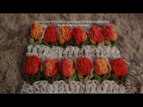 Step by step point in Tulip Crochet - YouTubeAccess to english version found in comments