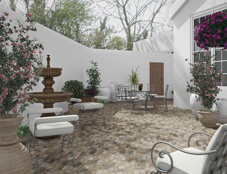 Colección Varadero de cerámica de Cifre Cerámica exterior/ Varadero collection of ceramic tiles by Cifre Cerámica kitchen collection