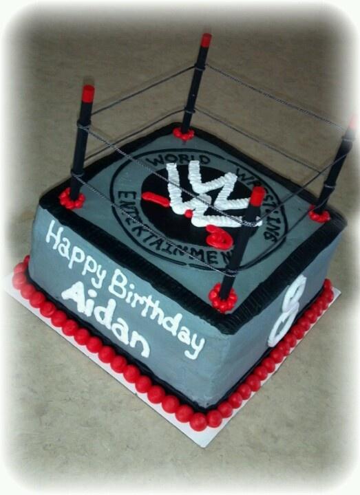 Wrestling Birthday Cake Kits