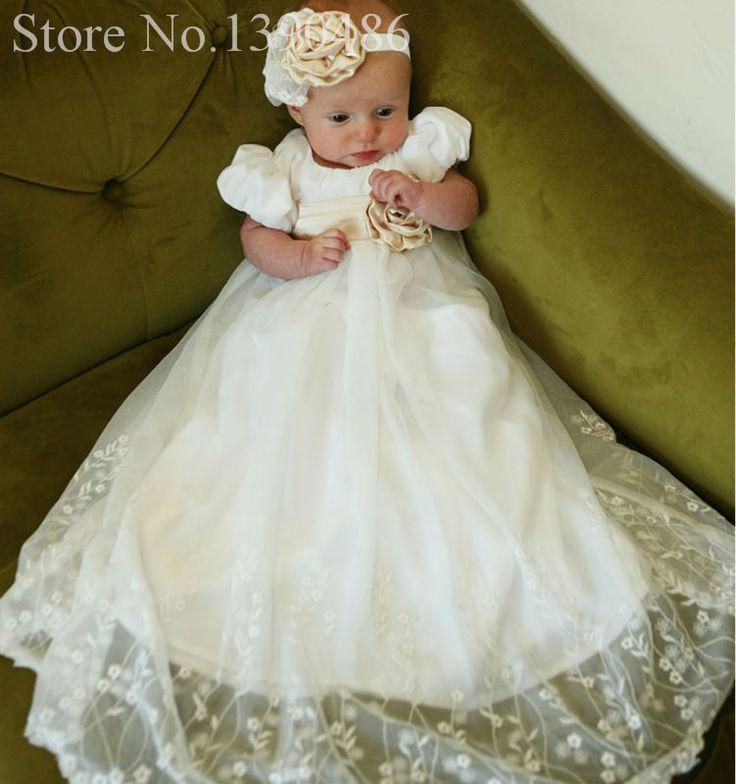 59 best Baby Baptism Dress images on Pinterest | Baptism dress ...