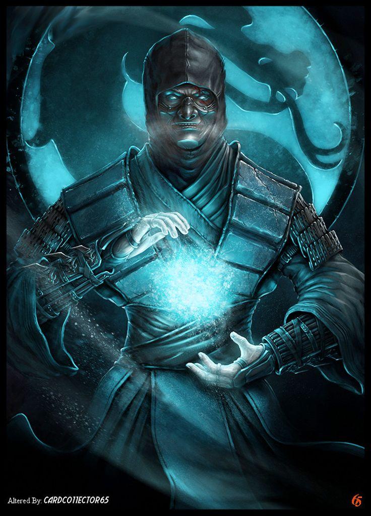 Mortal Kombat, Sub Zero - MTG - Sleeves