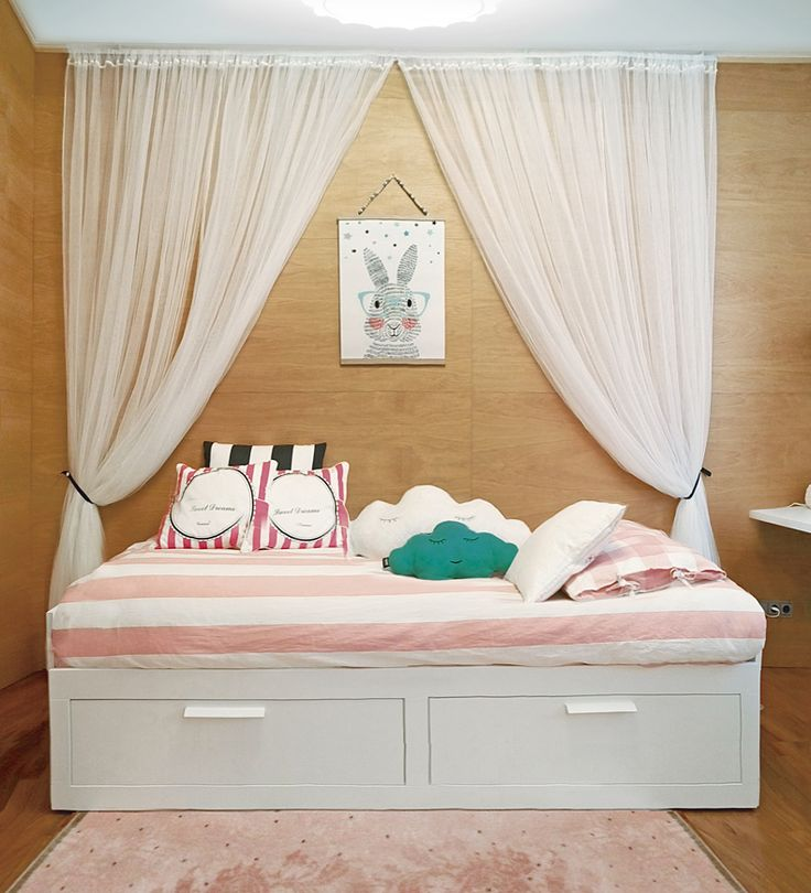 Una niña necesita un espacio donde jugar, donde acumular peluches, saltar, leer, tirarse en la cama junto a su hermana para contar historias y en definitiv