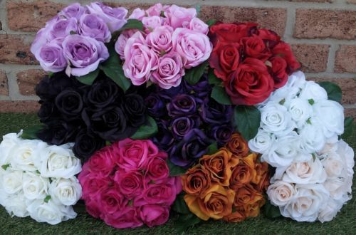 Artificial rose bouquets  10blooms MASSIVE STOCK CLEARANCE $4.00 PER BUNCH