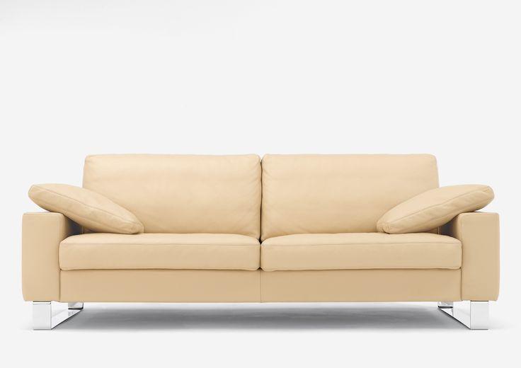 Modernes Sofa   Leder   Creme   In Verschiedenen Farben Erhältlich   Bei  Möbel Morschett