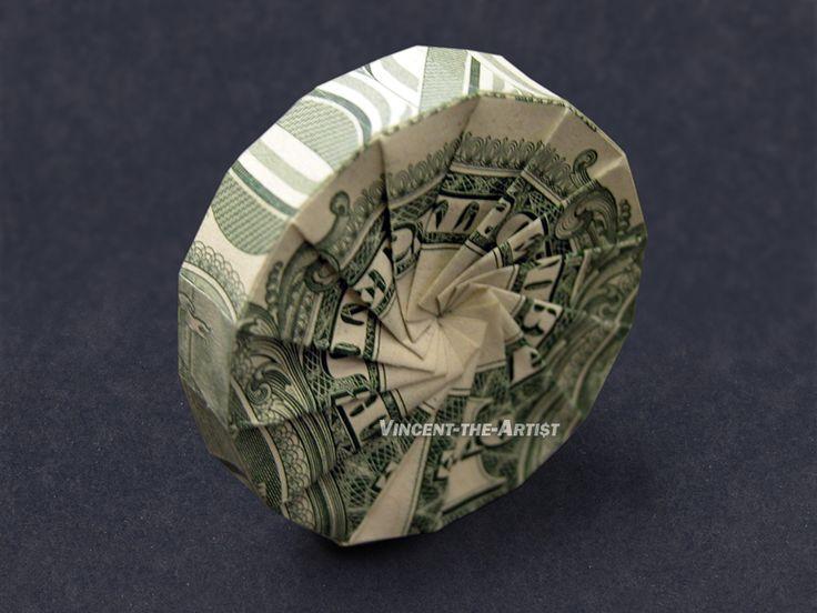 Dollar Origami Wheel
