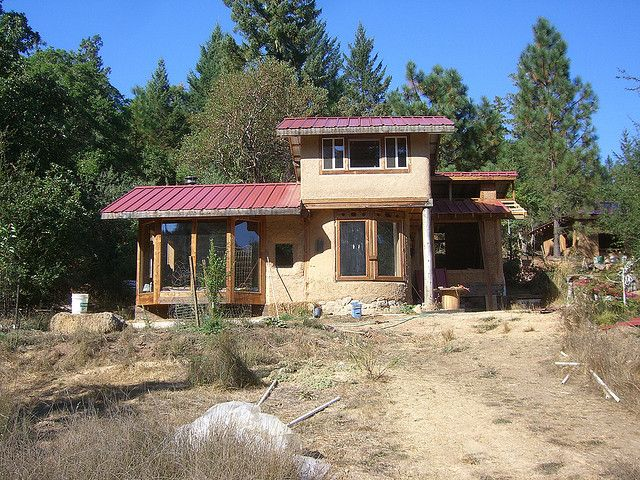 521 best images about bungalow on pinterest straw bale for Straw bale house cost per square foot