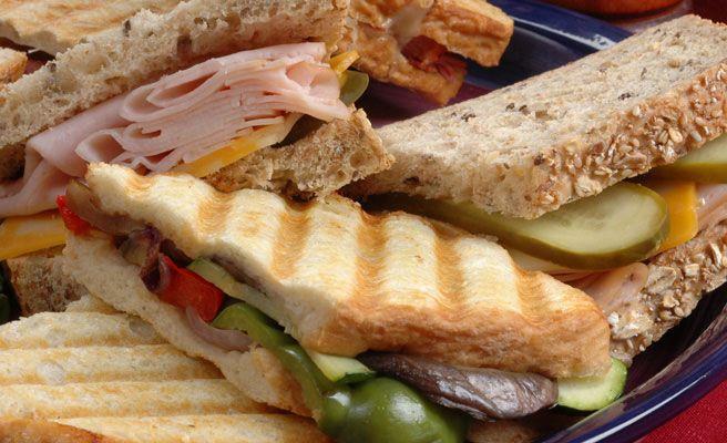 Backerhaus Veit Panini Sandwiches