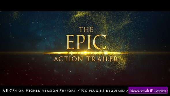 Videohive The Epic Action Trailer