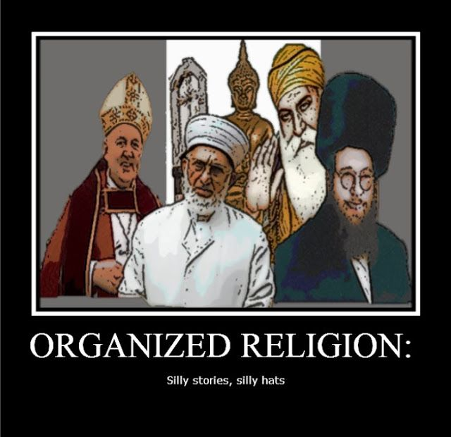 Funny Organized Religion Meme | Irreligious Religion