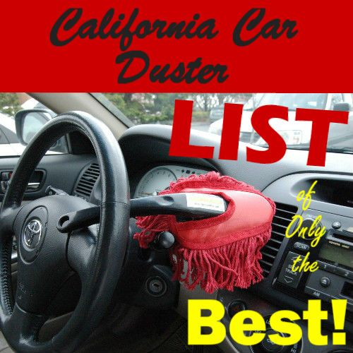 a california car duster is the best way to remove dirt and dust from your car between washings. Black Bedroom Furniture Sets. Home Design Ideas