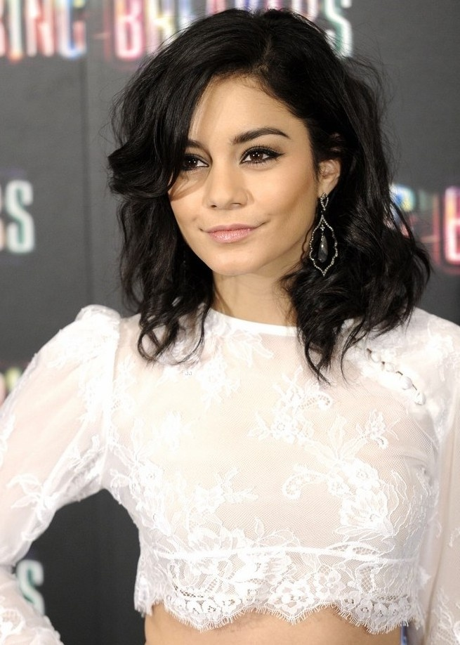 Vanessa Hudgens, short hair #hairstyles #hair #haircuts