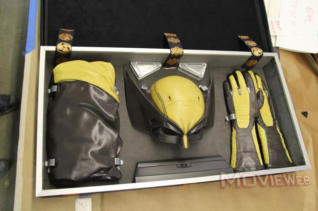 Wolverine costume that almost showed up in The Wolverine movie. I gotta say, this might've looked really cool.