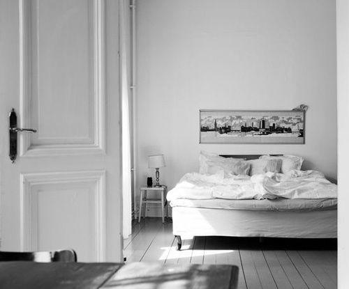 //Colleges Life, Bedrooms Colors Schemes, Beautiful Spaces, Simple Bedrooms, Nordic Design, New Bedrooms, Beds Frames, Bedrooms Decor, Design Blog