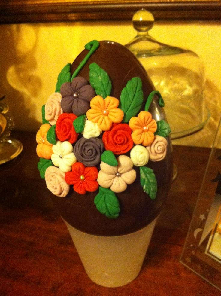 Decorato l'uovo per domani!!