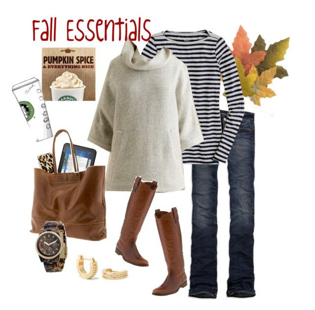 Fall Essentials by jencirino on Polyvore featuring polyvore, moda, style,  J.Crew