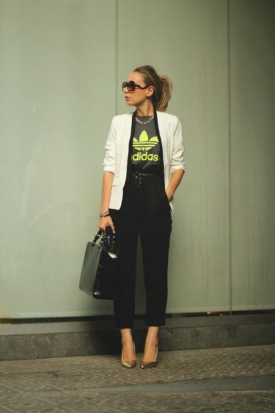 The Adidas Tee is a Street Style Must | StyleCaster