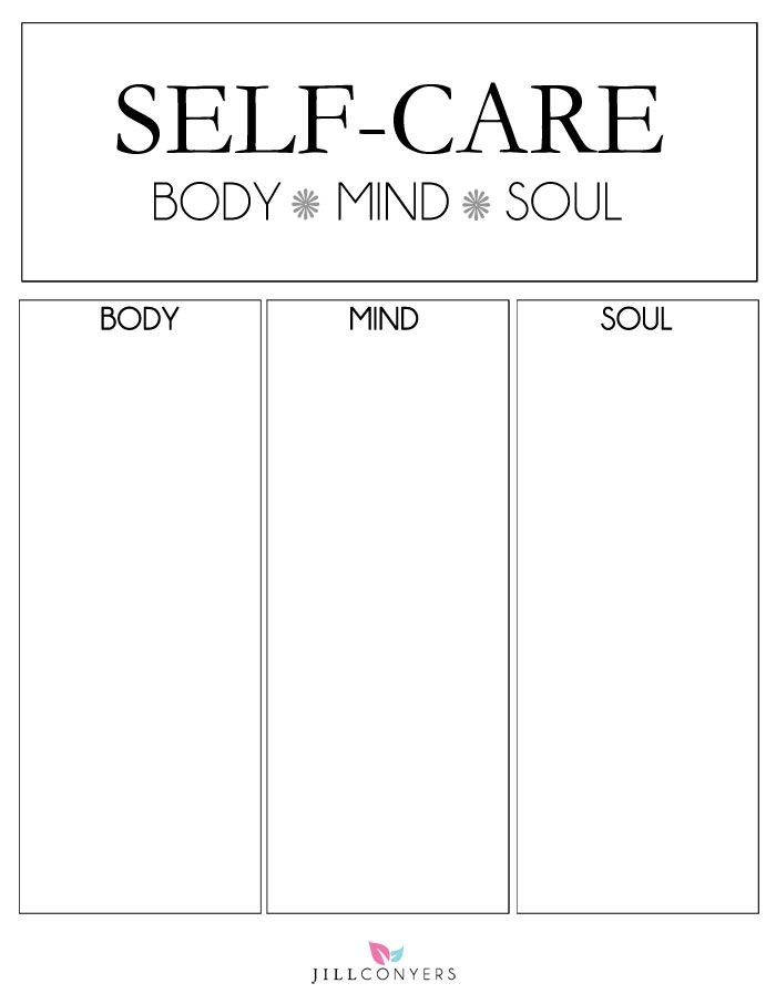 Creating a self-care plan of habits, treatments and rituals that will restore you, build you up, give you confidence and make you feel amazing. Click through to http://jillconyers.com to download the FREE Self-Care Worksheet to get you started. Don't forget to pin it. @jillconyers