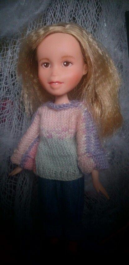 Kislany Rescue Dolls OOAK Bespoke Bratz upcycled made-under repaint handmade jumper