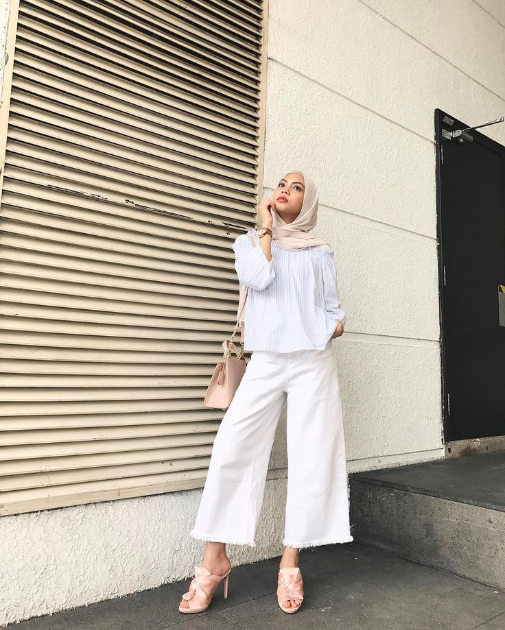 Summer street style modest fashion hijab