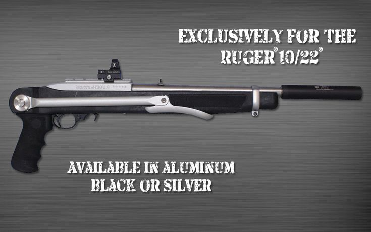 UnderFold Stock for the Ruger 10/22 Find our speedloader now!  http://www.amazon.com/shops/raeind