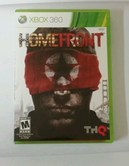 Homefront  (Xbox 360, 2011) Pre-Owned Rated M (Never Played) Like New