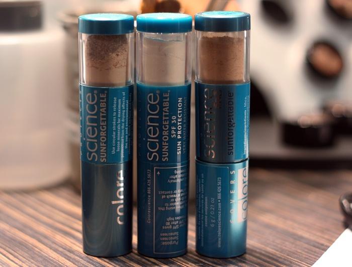 Colorescience: Sun Protection, Powder Sunscreen, Coloresci Sunforgett, 30Spf Powder