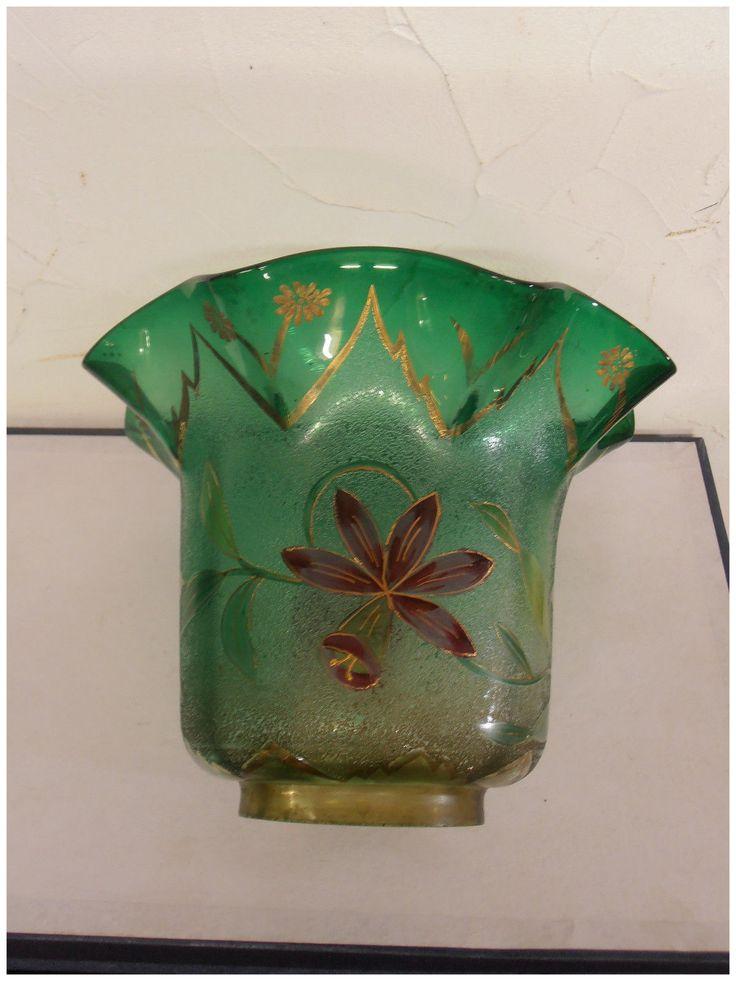 TULIPE DE LAMPE A PETROLE PETROLEUM LAMP TULIP CRISTAL DE BACCARAT | eBay
