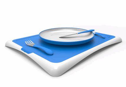 野菜を食べない子供のためのゲーミフィケーション食器