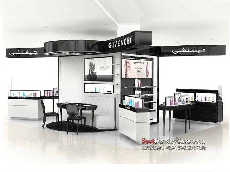 CS087 OEM & customize cosmetic display units cosmetic display showcase