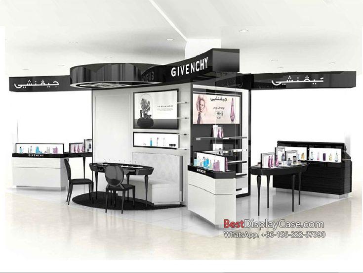 CS087 OEM & customize cosmetic display units cosmetic display showcase