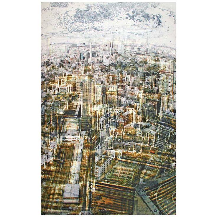 Gottfried Salzmann - Tokyo (2013) - giclée
