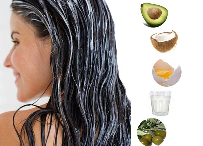 Pflegende Haarmaske für trockenes Haar selber machen