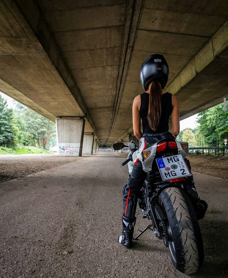 Real Motorcycle Women - europeanbikers (1)
