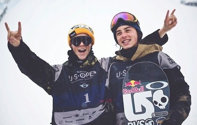 Slopestyle 2nd place is Staale Sandbech for the Burton US Open