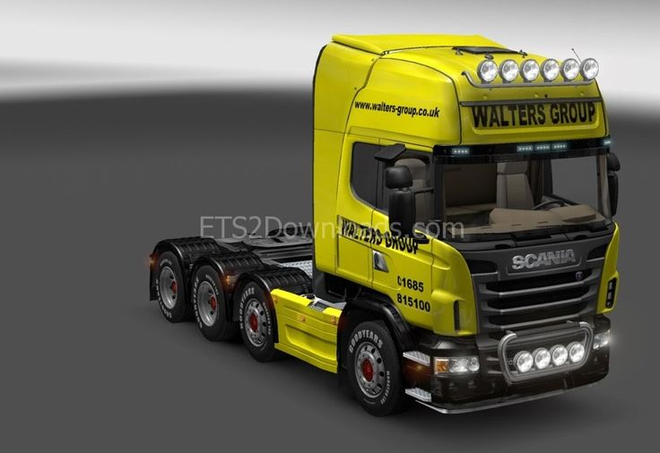 Walters Group Skin for Scania + Topline + Tuning